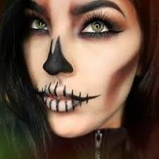 image result for simple day of the dead makeup