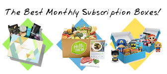 2016 best monthly subscription bo monthly bo for women men 2017