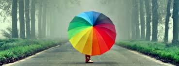 Resultado de imagem para arco iris do facebook