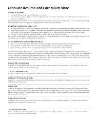 Sample Graduate School Resume Sample Grad School Resume Sample ...