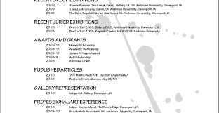 Best Artist Resume Vs Cv Gallery Resume Ideas Namanasa Com
