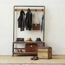 Industrial Style Coat Rack Coat rack inspiration 100 Pinterest Coat racks Hanging racks 9