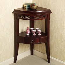 gorgeous accent table with storage small corner accent table with drawer of aruza corner accent table