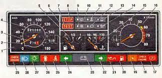 Горит лампочка аккумулятора ВАЗ  Схема расположения индикаторов на панели приборов автомобиля ВАЗ 2109 Номером 23 помечена контрольная лампа заряда аккумуляторной батареи
