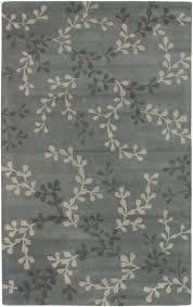 blue gray vine rug zoom