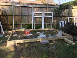 outside home office. how to build your own home office from scratch day 2 6x2 frame outside