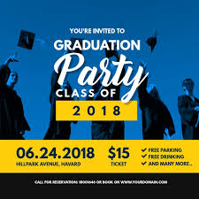 Graduation Party Invitation Online Card