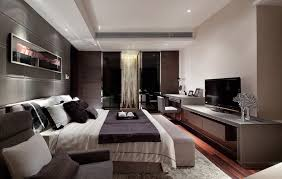modern romantic bedroom interior. Bedroom Romantic Features Interior Inspiration Modern Luxurious Theme Dark Color Dominant O