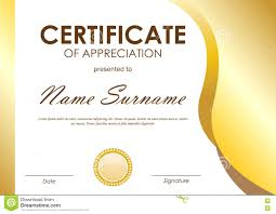 25 Useful Resources Of Certificate Of Recognition Template