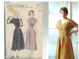 Modern Sewing Patterns Mesmerizing Modern Updates For A Vintage 48s Dress Pattern Foxflat