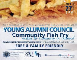 Fish Fry Flyer Microsoft Office Alumni Friends Bwe Events Saint Augustines University
