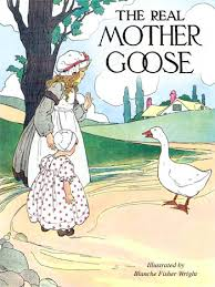 ilration for the cybercrayon cover by blanche fisher wright from the real mother goose