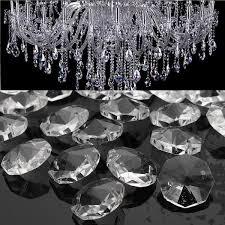 50pcs clear glass crystals chandelier pendant lamp prisms
