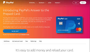 paypal cash mastercard offer web page