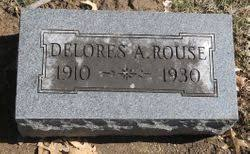 Delores Aurelia Gross Rouse (1910-1930) - Find A Grave Memorial