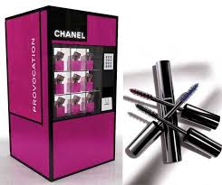 Vending Machines Brands Mesmerizing Chanel Vending Machine Provides Luxurious Makeup Beauty Tips
