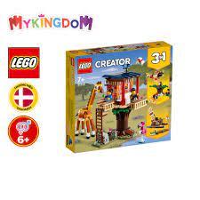 MYKINGDOM - Đồ Chơi Lắp Ráp LEGO CREATOR Nhà Cây Safari 31116 Cho Bé Trên 7  Tuổi (397 Pieces)