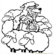 Small Picture The Boy Who Cried Wolf Coloring Pages FunyColoring