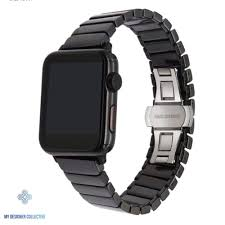 Designer 38mm Apple Watch Bands Ceramic Butterfly Loop Watch Band For Apple Watch