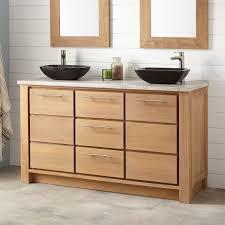 teak 60 inch double sink vanity