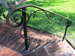 diy exterior metal handrail. exterior metal stair railings - for every . diy handrail