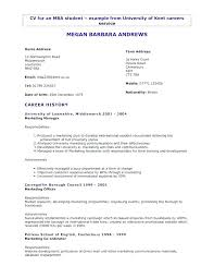 Resume Samples First Job Good Resume Examples For First Job Job