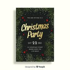 Holiday Dinner Invitation Template Party Invitation Template Free Vector Holiday Party