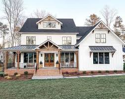 Modern Farmhouse Home Designs Top Modern Farmhouse Exterior Design Ideas08 House With