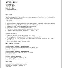 Brilliant Ideas of Sample Qa Engineer Resume For Your Job Summary