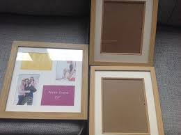 x 2 next photo frames and x 1 collage frame