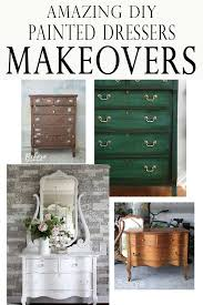 diy painted furniture ideas. Amazing Painted Dresser Makeover Ideas- With Before And After Photos Diy Painted Furniture Ideas