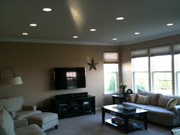 ideas for recessed lighting. Recessed Lighting Ideas. Adorable Ideas For Living Room With Installation Drywall Repair Painting E