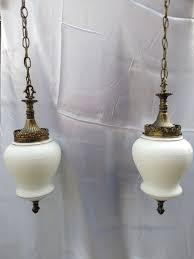 Vintage Hanging Swag Light Vintage Vv France Double Hanging Swag Lights Swag Lamp