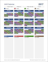 Firefighters Shift Calendar 2020 Shift Calendar Template