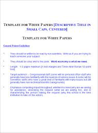 White Papers Sample 11 White Paper Example Cover Sheet