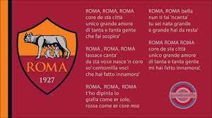 Hino da A.S. Roma ( ITA ) - YouTube