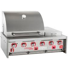 natural gas 45 stainless steel built in outdoor grill main picture image preview