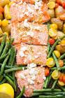 baked mediterranean salmon