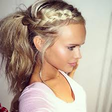 Pretty Girls Hairstyle pretty & casual messy ponytails hairstyles 2017 hair colors and 5538 by stevesalt.us
