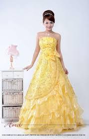 yellow gold wedding dresses wedding short dresses