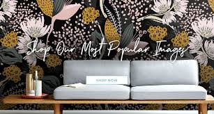 3 simple steps to a new wall removable reusable wallpaper