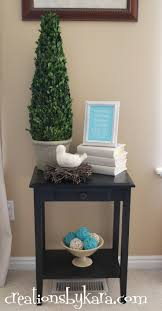 Accent Table Decorating Ideas 11 Best Table Decorations Images On Pinterest Console Tables