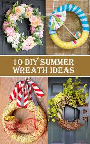 10 diy summer wreath ideas that will brighten up your porch
