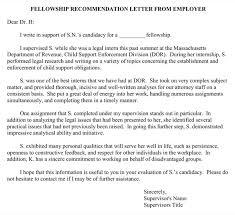 Download Sample Letter Of Recommendation For Clerkships And