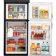 refrigerator 8 cu ft. dometic americana rm2852 2-way refrigerator, double door, 8.0 cu. ft. refrigerator 8 cu ft
