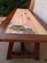 Plain Design Tile Top Dining Table Stylish Ideas Tile Top Dining Tables
