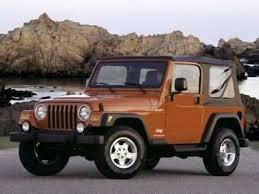 2003 Jeep Wrangler Exterior Paint Colors And Interior Trim