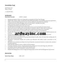 Sales Associate Resume Example Retail Sales Associate Resume Sample Resume Builder