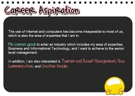 Example Of Career Aspiration Aspirations Examples Freeletter Findby Co