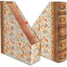 Punch Studio Magazine Holder Punch Studio Florentine Decorative File Folders on PopScreen 99